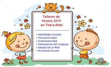 talleres de terapia niños