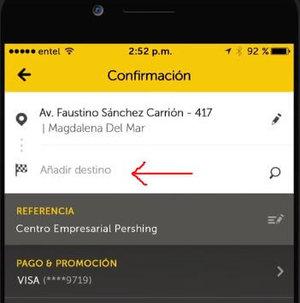 calcular viaje easy taxi