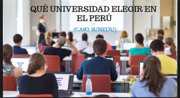 a que universidad licenciada debo postular - Perú