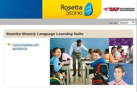 universidad alas peruanas rosettastone