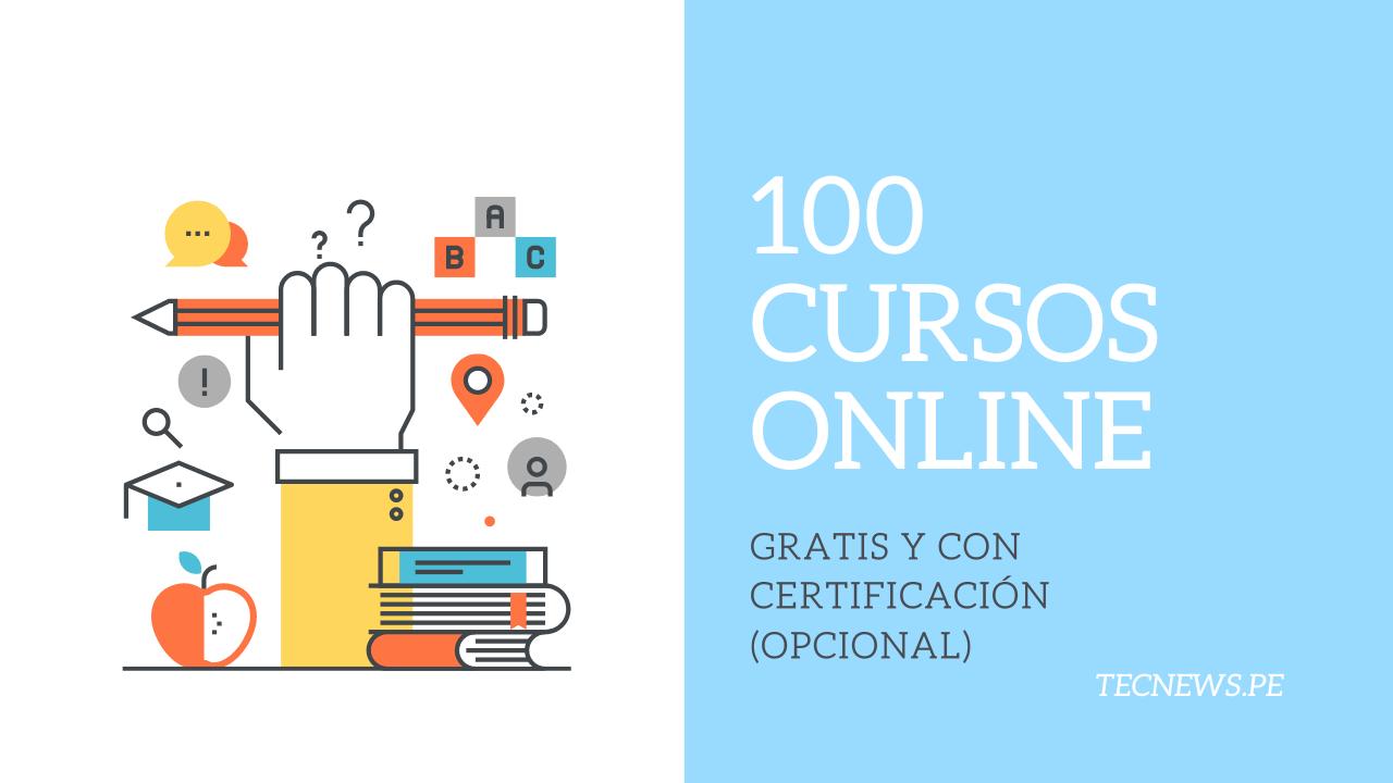 cursos en linea gratis Perú 2020 (+Certificado)
